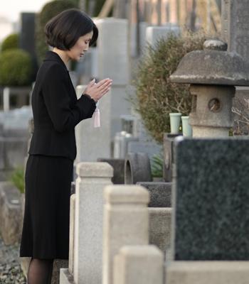 家族供養葬について